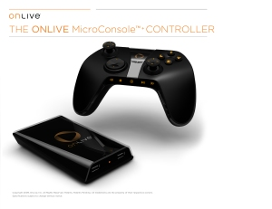 OnLive Controller and Mini-Console