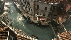 Assassin's Creed II Ezio Dive