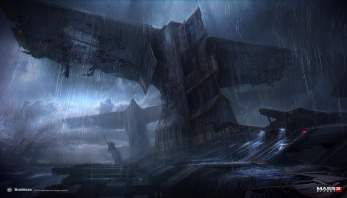 Mass Effect 3 – Leviathan concept by AlexF