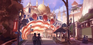 Bioshock Infinite: Boardwalk Loveboat by Benlo