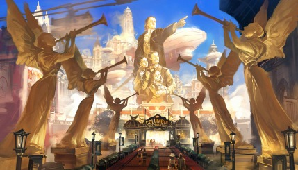 Bioshock Infinite: Columbia Entrance by Benlo