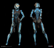 Mass Effect 3 – DLC Edi Alt Costume by AlexF