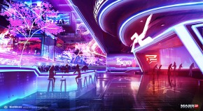 Mass Effect 3 – Citadel Casino concept by AlexF