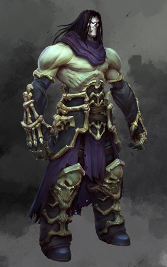 Darksiders II concept art