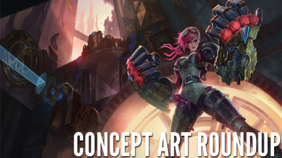 Concept Art Roundup: Iron Man 3, League of Legends, Darksiders II, and More