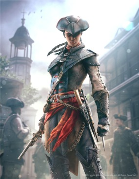 Assassin's Creed III: Liberation concept art