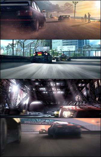 Grid 2 teaser trailer concept
