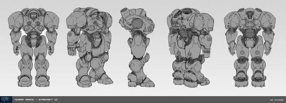 StarCraft concept art