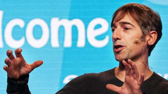 Mark Pincus and his hands