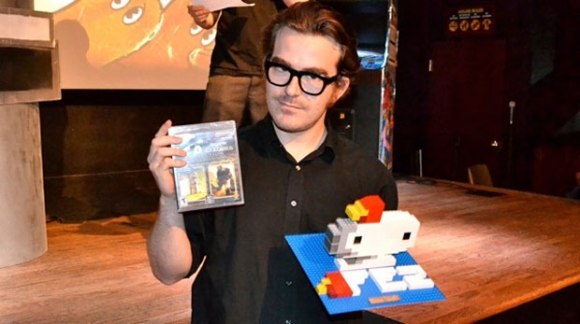 Phil Fish at Fantastic Arcade 2012