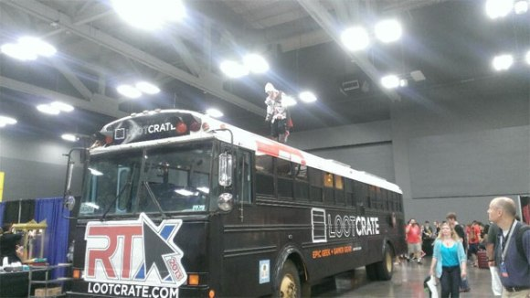 RTX 2013 - Assassin's Creed on the Loot Crate bus