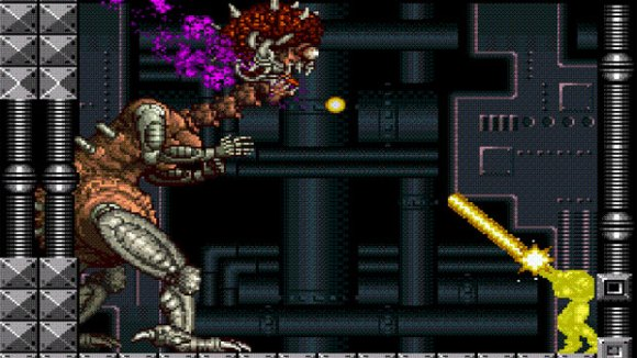 Super Metroid Mother Brain battle