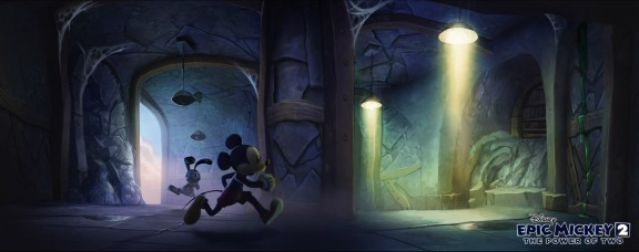 Kevin Chin Epic Mickey 2: The Power of Two concept art