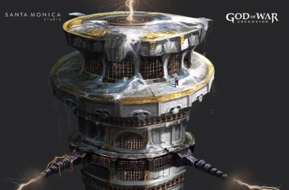Jung Park God of War: Ascension concept art