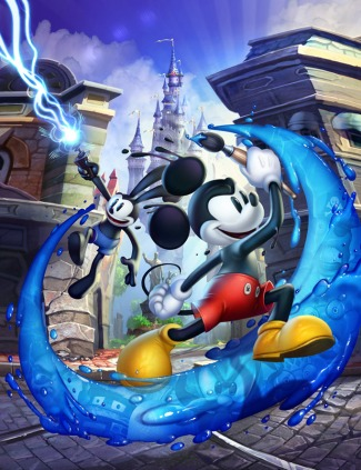 Adam Fenton Epic Mickey 2: The Power of Two concept art