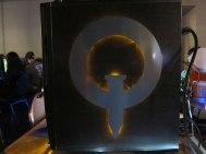 Quake logo case mod