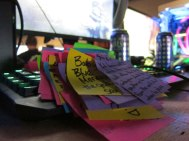 Chris Rodriguez's Post-its
