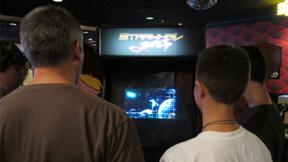 Starwhal: Just the Tip at Fantastic Arcade 2013
