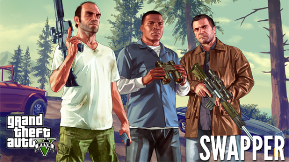 The Switch of Grand Theft Auto V