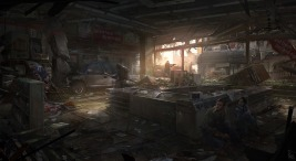 The Last of Us concept art by James Paick