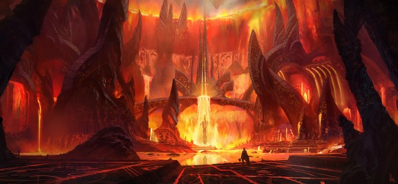 Thor: The Dark World concept art by James Paick