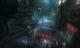 Prey 2 concept art by James Paick