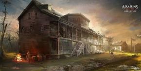 Assassin's Creed III: Liberation concept art by Nacho Yague