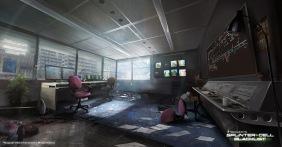 Splinter Cell: Blacklist concept art by Nacho Yague