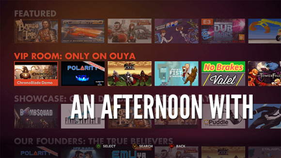 An Afternoon with Ouya Eight Months Later