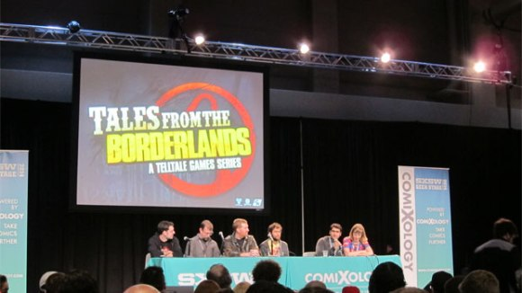 Tales From The Borderlands panel at SXSW Gaming 2014