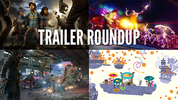 Trailer Roundup: The Walking Dead, Sunset Overdrive, and More