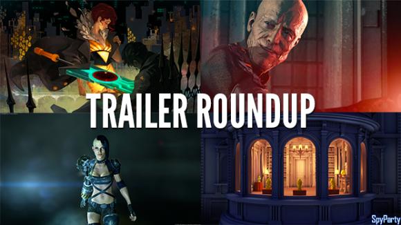 Trailer Roundup: Transistor, Wolfenstein, and More
