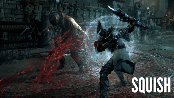 Pushing Blood in Bloodborne